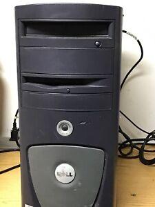 Vintage Dell Precision Workstation 350 Series Pentium 4 2.4Ghz No hard drive