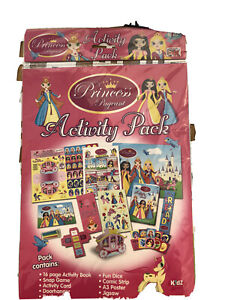 Princess Kids Craft Activity Party Gift Pack