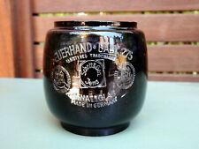 Rare Ww2 Feuerhand 275 Baby 'Black Out' schwarz Glass Globe Jenaer Glas Mint