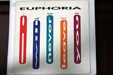 Euphoria - I Will Never Leave You | CD single | 1992