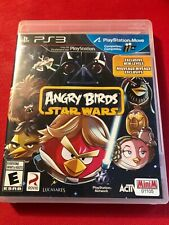 Angry Birds Star Wars (Sony PlayStation 3, 2013) (No Manual) (VG)