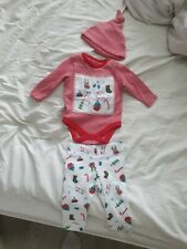 Baby My First Christmas Outfit 0-3 Months F&F