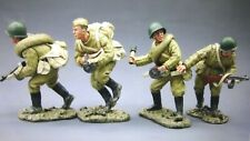 king &country 54mm ww2 Russian red army attacking force  4figsRA008 2005 MIBoop