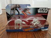 STAR WARS HOT WHEELS AT-AT VS REBEL SNOWSPEEDER