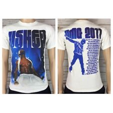 Usher Unisex 2011 OMG Tour Concert White Graphic T-Shirt Small