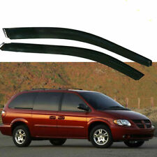 Fit For Dodge Caravan 1996-2007 Rain Guard Window Visor Deflector Shade Sun (Fits: Plymouth Grand Voyager)