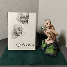 Smeagol Statue Lord of The Rings LOTR The Two Towers & Creating Gollum DVD/book