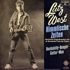 "7"" LUTZ WEST WOLLERSEN Himmlische Zeiten PAT BOONE ALVIN STARDUST Wonderful time"