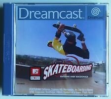 Dreamcast MTV Sports Skateboarding - great condition