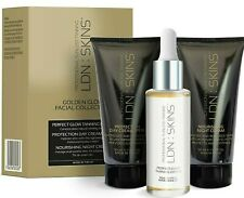 LDN : SKINS Spring Golden Glow Facial Collection Tanning Drops + 2x Cream RRP£65