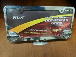 Pilot Automotive Chrome, Nissan License Frame WL071C tag frame