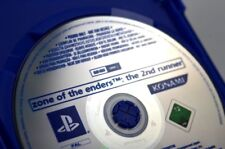 Zone of the Enders 2 - PROMO only not for resale PS2 playstation BLUE disc RARE