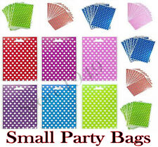 More details for polka dot paper sweet bags party favour gift candy spotty pouches sweet cart