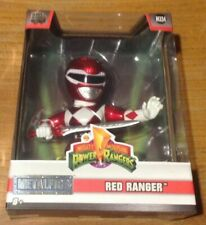 """Metalfigs Power Rangers Red Ranger 4"""" Die Cast Action Figure (M334) - Jada Toys"""