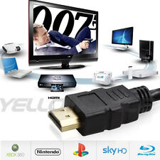 GOLD 50 Foot 50FT HDMI 1.4a Premium Cable For 4K 3D PS3 / 4 XBOX LCD Plasma HDTV