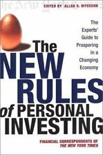 The New Rules of Personal Investing: How to Prosper in a Changing-ExLibrary