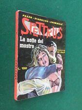 SPETTRUS n.1 LA NOTTE DEL MOSTRO Ed.Cervinia (1965) Fumetto noir