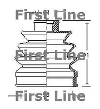 CV JOINT BOOT KIT pour Mazda 121 FCB2056