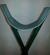 TIRO Bipode STICK PISTOLA resto Sling/verde vera pelle. si adatta a 15mm DI DIAMETRO stick