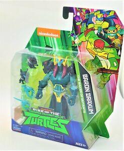 Rise of the Teenage Mutant Ninja Turtle Baron Draxum Playmates Action Figure