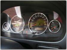+ Rover 45 / 400 - 4-teilig ALU TACHORINGE / TACHO RINGE +