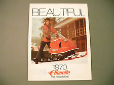 1970 Vintage Alouette Snowmobile Brochure