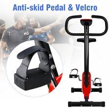 Bicicleta de Fitness Bici estáticas Cardio Fitness LCD Pantalla Caloría Rojo ES