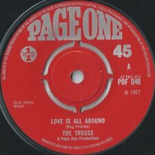 Love 45 RPM Speed Vinyl Records Release Year 1967