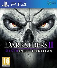Darksiders II 2 Deathinitive Edition PS4 * NEW SEALED PAL *