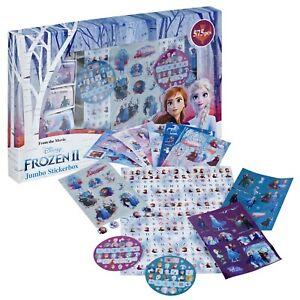 575 Piece Disney Frozen Stickers Creative Play Craft Toy Art Fun Stickerbox Set