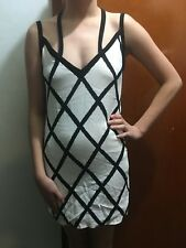 BEC & BRIDGE STRAPPY LATTICE  DRESS SZ 8 FREE POSTAGE  (F27) WOMENS RACES