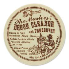 Masters brosse nettoyant/preserver - 75ml - (2.5 oz) pour huile & peinture acrylique