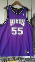 NIKE 1997 KINGS WILLIAMS # 55 PURPLE Jersey size MEN'S XL NEW VINTAGE