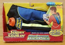 Vintage Super Soaker Max Infusion Backpack New in Original Box! RARE!