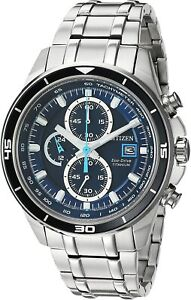 NEW Citizen Eco-Drive Men's Titanium TI+IP Chronograph Watch CA0349-51L SALE!!!