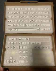 115 Japanese Root White XDA Dye-subbed PBT Keycap Set For Cherry Mx Keyboard