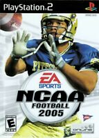 NCAA Football 2005 - Playstation 2 Game Complete