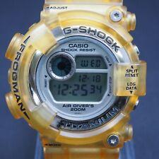 CASIO G-SHOCK DW-8201WC-9T titanium FROGMAN gold quartz resin mens watch