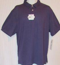 Grand Slam Men's XL Cool Flow Stretch 360 Motion Flow Purple Polo Shirt New Tags