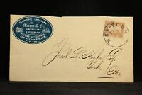 New York: NY City 1860 (Circa) #26 Munn Patent Attorney CAMEO Advertising Cover