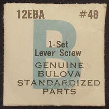 Bulova Caliber 12EBA Part Number 48 (Ebauche Number 5443) (Setting Lever Screw)