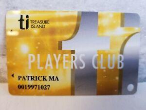 Treasure Island TI Casino Hotel Players Card Slot NV Las Vegas