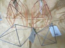 4 New Metal Hanging Decor Design It - floralCraft - Birdhouse & Diamond Shape