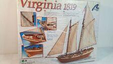 Virginia 1819 balsa sailboat kit by Artesania Latina