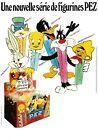 PEZ Werbung Disney - Une nouvelle serie de figurines PEZ - TV-Star Dispenser