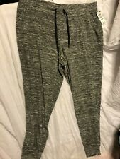 Ideology Women's Running Fitness Jogger Pants - Color Heather Charcoal - Size 1X