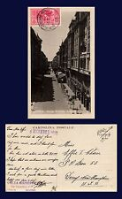 ITALY SAVONA CORSO PRINCIPE AMEDEO REAL PHOTO BY VOLTA GIUSEPPE 1932 TO DERRY NH