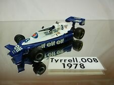 TYRRELL 008  WESTERN MODELS -    KIT (built)  - VERY RARE  1:43 - NICE CONDITION