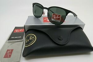 Ray-Ban RB 3538 186/71 Black on Black/Dark Green New Unisex Sunglasses w/Box