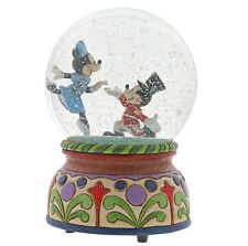 Disney Traditions Mickey Minnie Mouse Nutcracker Musical Waterball 14cm 6000944